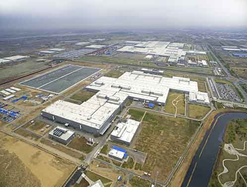 BMW Distribution Center in Shenyan